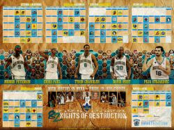 New Orleans Hornets 82 Nights 2009