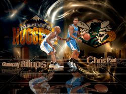 Nuggets vs Hornets 2009 Playoffs