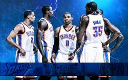 Oklahoma City Thunder 2011 NBA Conference Finals Widescreen