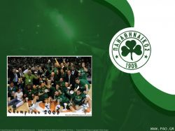Panathinaikos 2009 Euroleague Champion