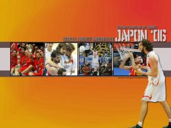 Pau Gasol Spain FIBA World Champions 2006