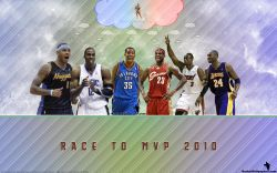 Race To NBA MVP 2010