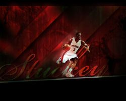Rodney Stuckey Detroit Pistons