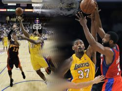 Ron Artest 1024x768 Lakers