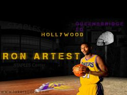 Ron Artest Lakers 1600x1200
