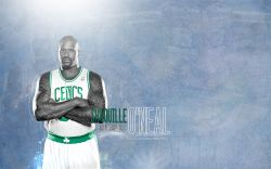 Shaq 2011 Celtics Widescreen