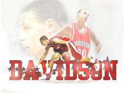 Stephen Curry Davidson Wildcats