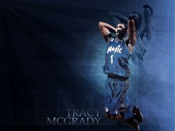 T-Mac Orlando Magic Dunk