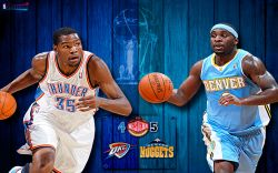 Thunder vs Nuggets 2011 NBA Playoffs Widescreen