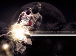 Tracy McGrady Space Dunk