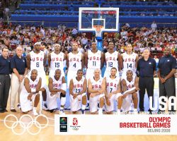 USA Basketball Olympic Team 2008