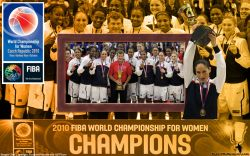 USA FIBA World Championship 2010 Gold Medal
