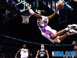 Vince Carter Raptors Dunk