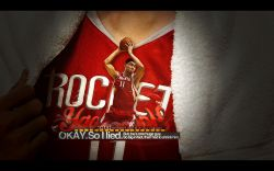 Yao Ming Rockets Widescreen
