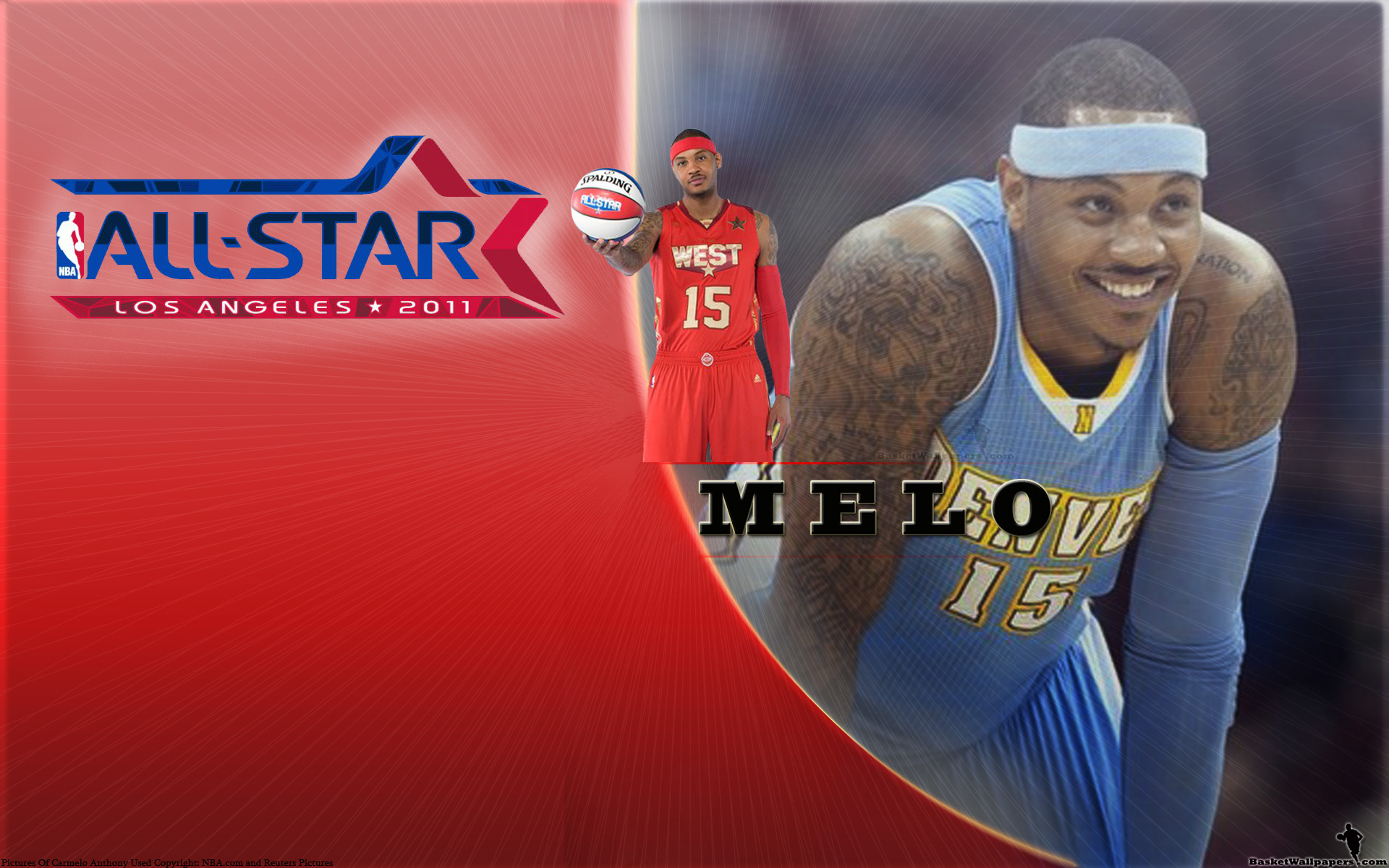 Carmelo Anthony All-Star 2011 Widescreen