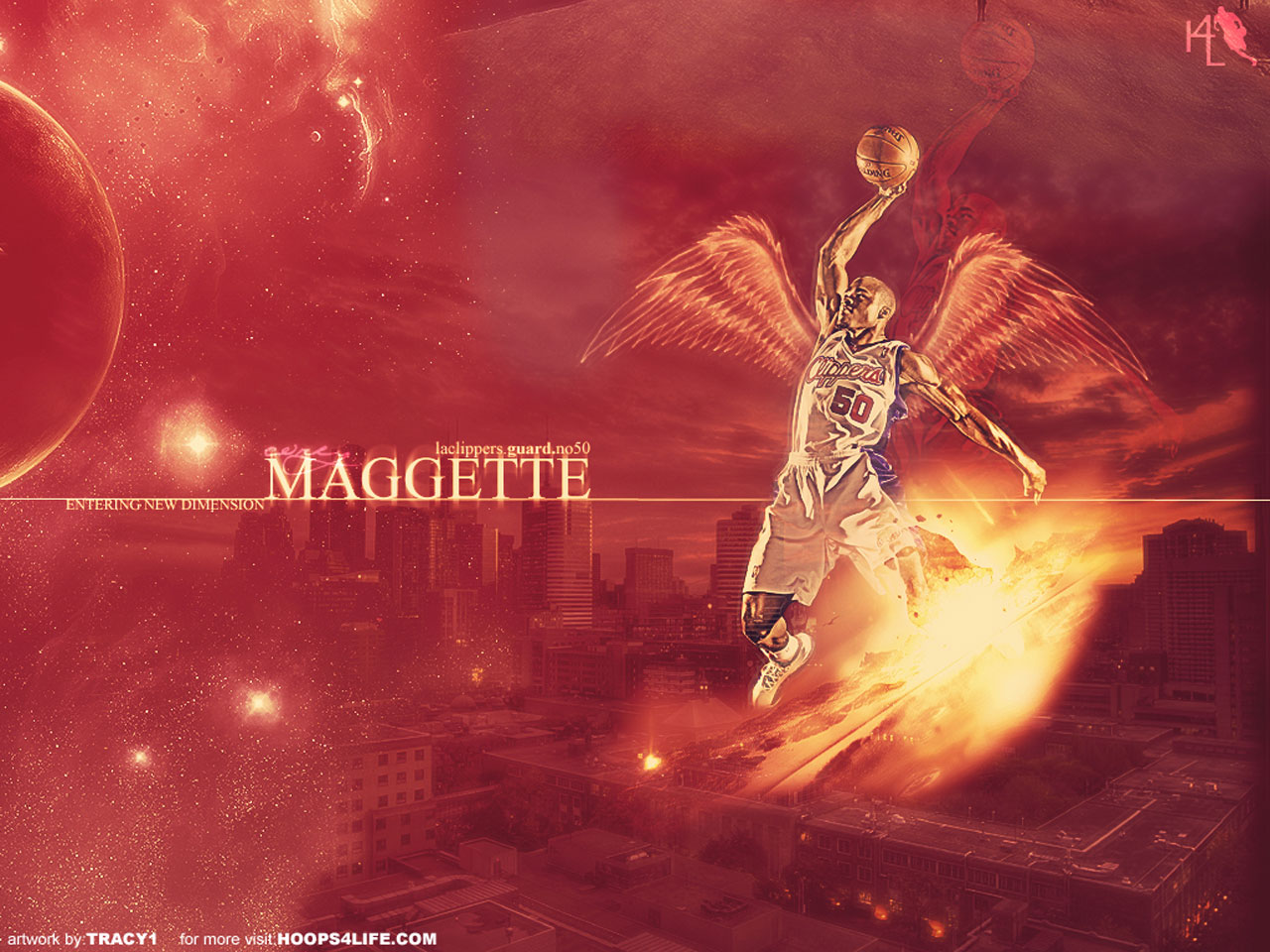 Corey Maggette Angel Dunk