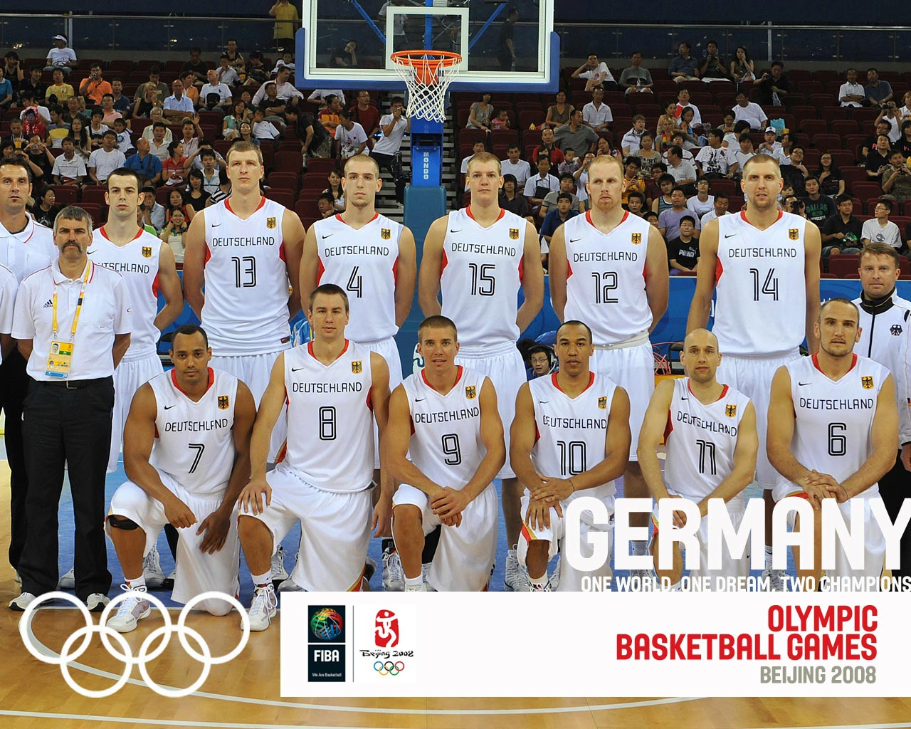 Germany Basketball Olympic Team 2008