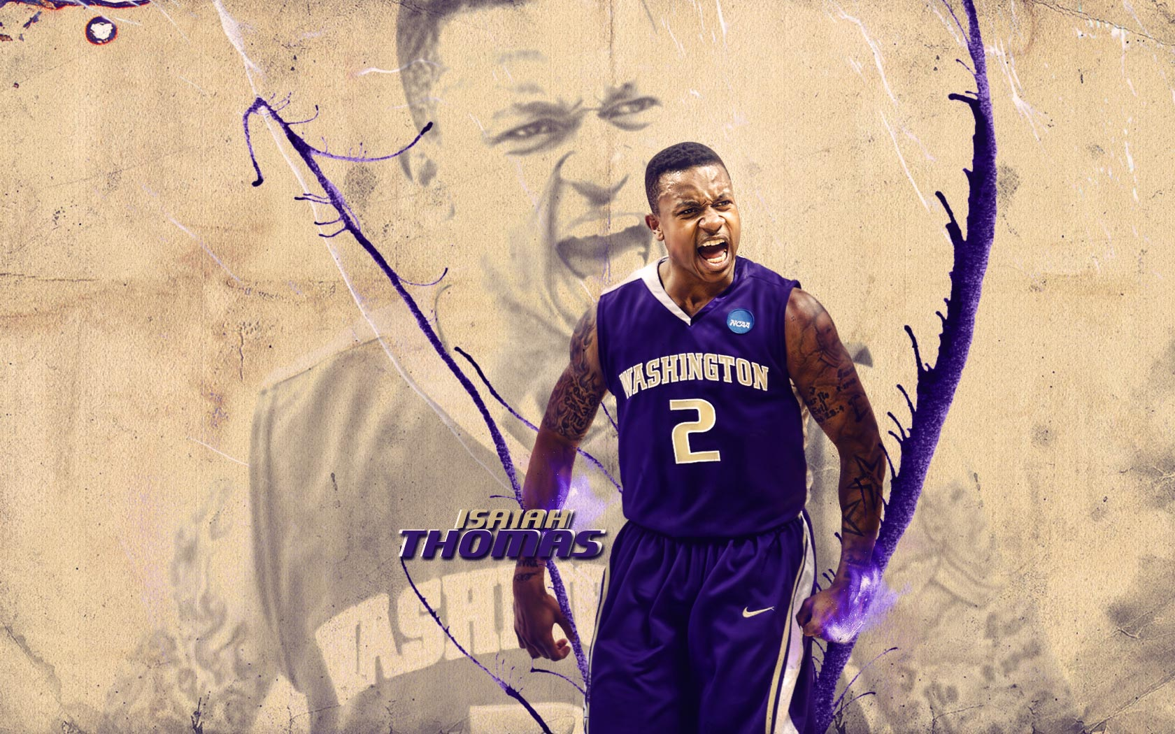 new products baf81 4b6e1 isaiah thomas washington huskies 2011 widescreen photo