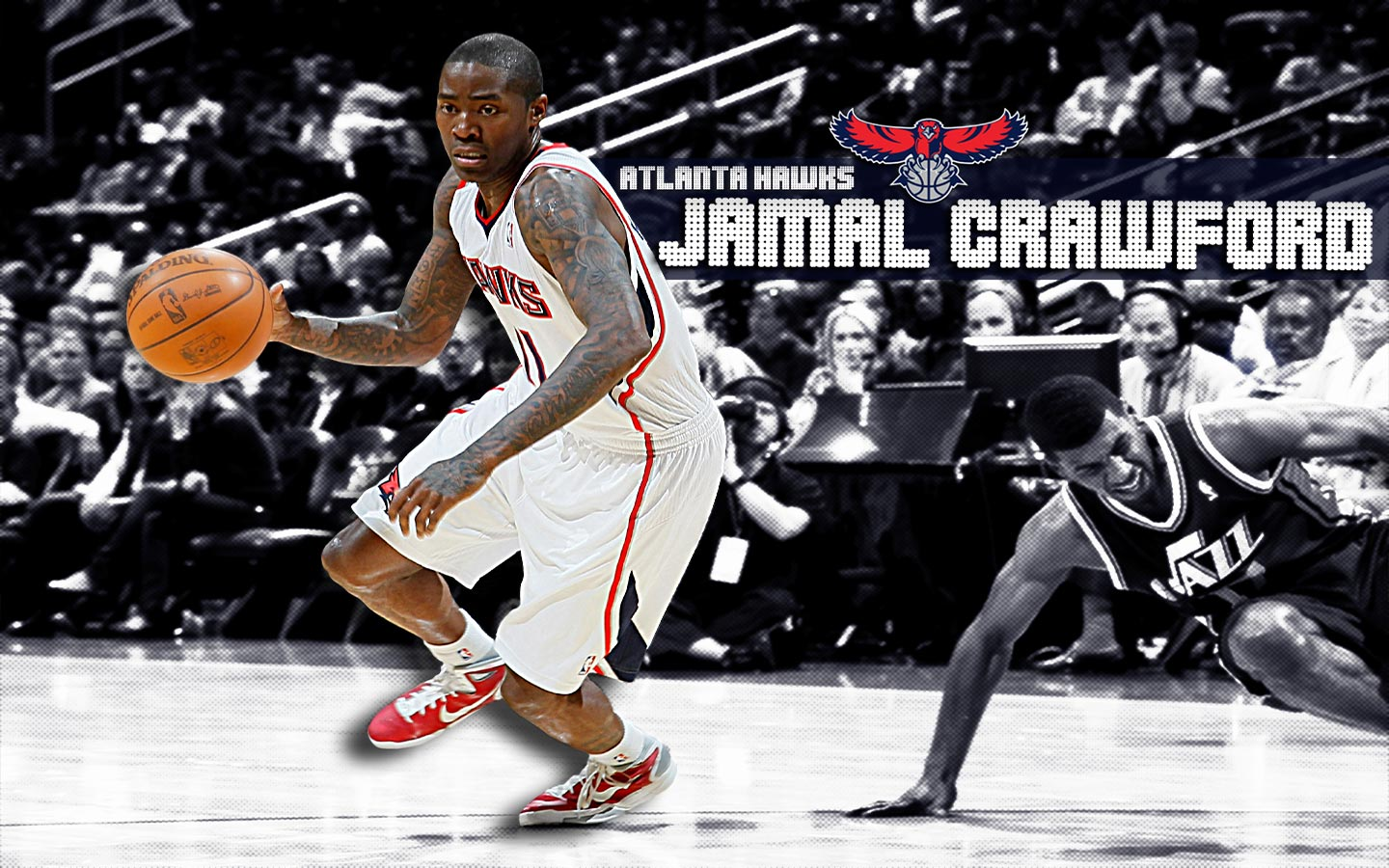 Jamal Crawford Hawks Widescreen