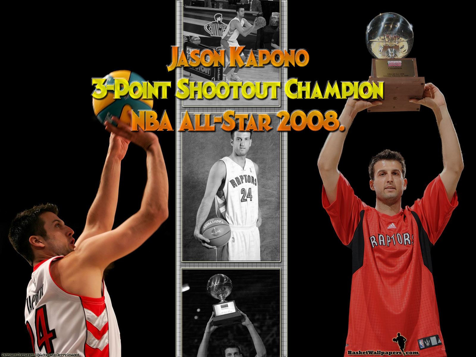 Jason Kapono 2008 3pt Shootout Champion