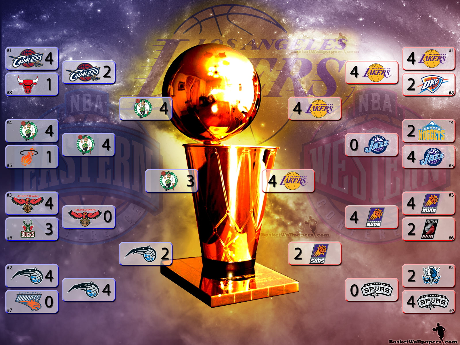 la lakers 2010 nba champions photo
