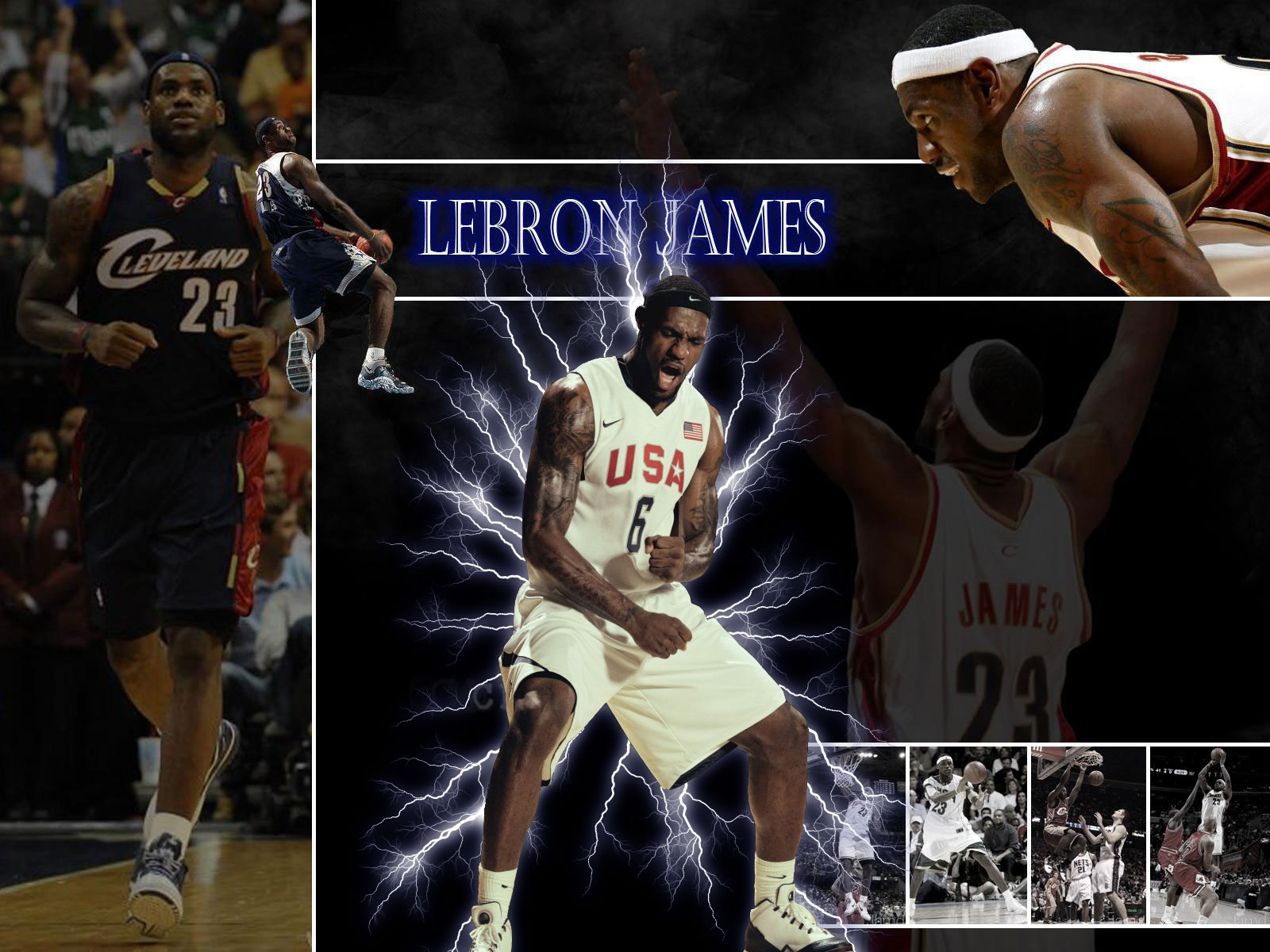 LeBron James Dream Team