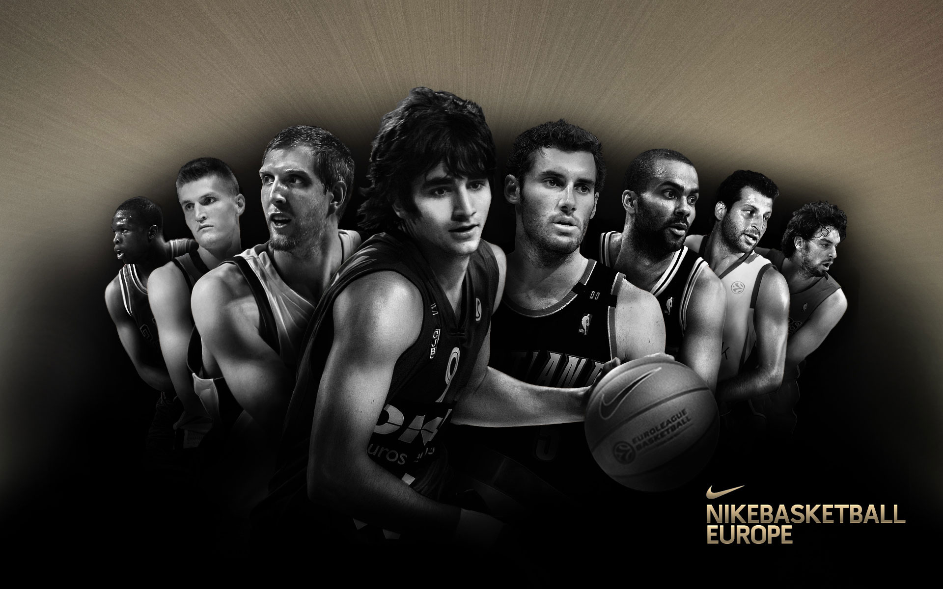Nike Basketball European Stars 1920x1200