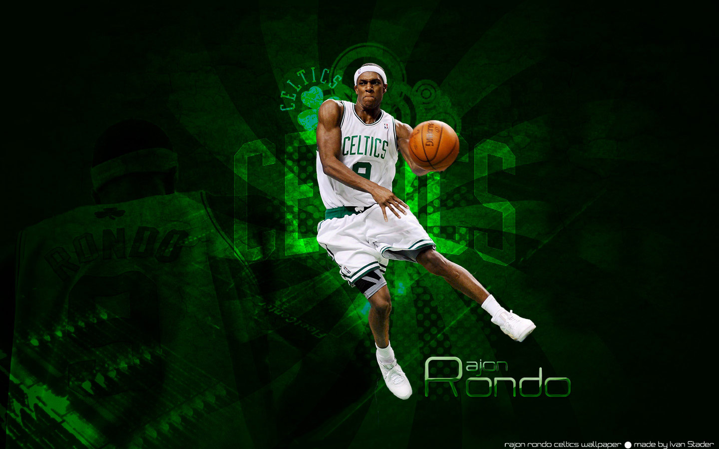 Rajon Rondo 2010 Widescreen Photo