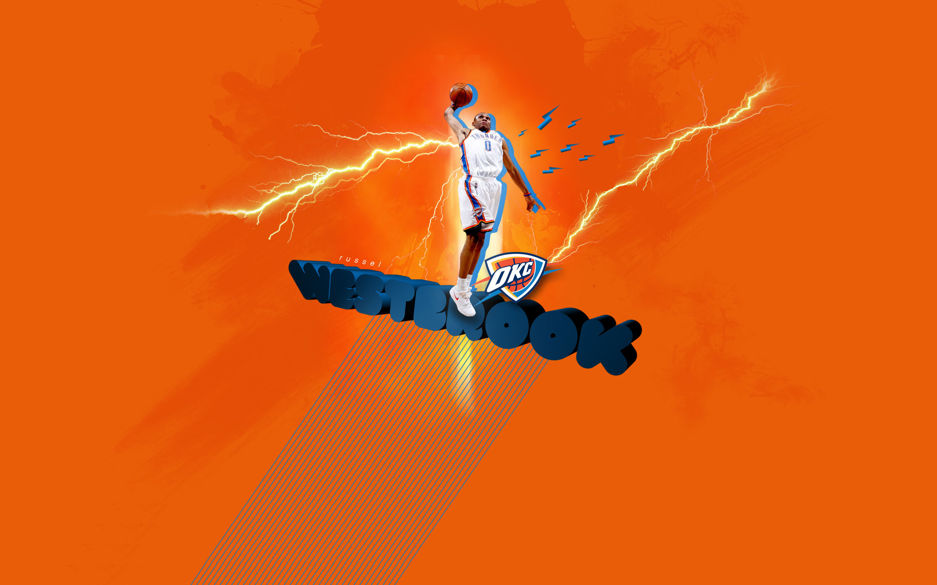 Russell Westbrook 1920x1200 Widescreen