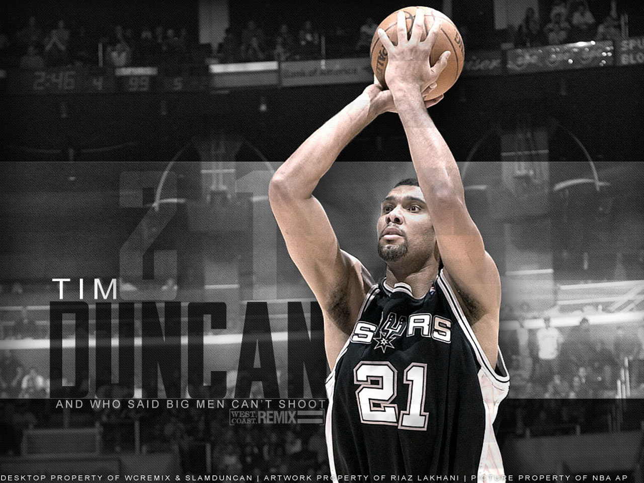 Tim Duncan Shooting
