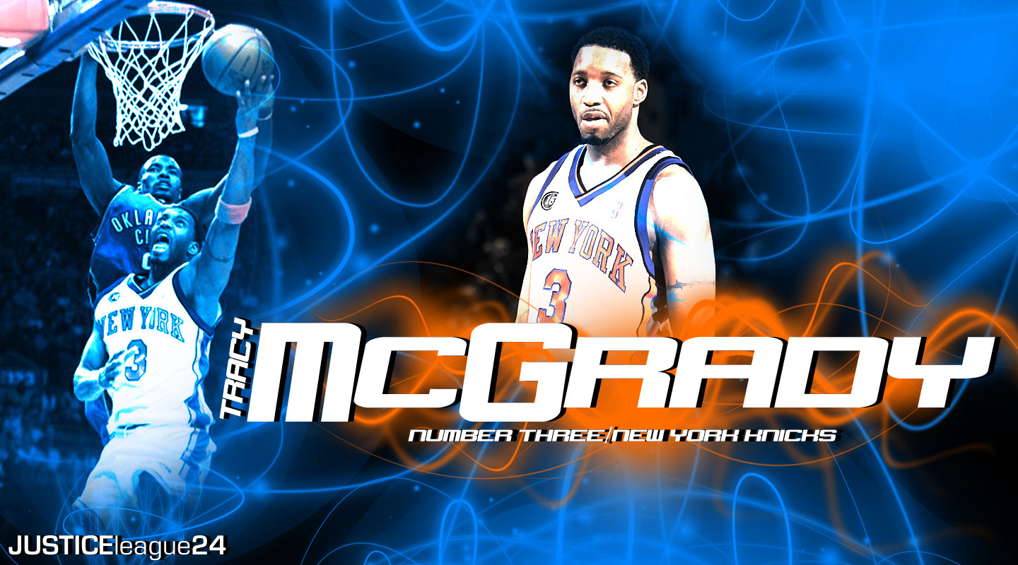 Tracy McGrady Knicks Widescreen